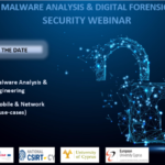 Malware Analysis & Digital Forensics Cybersecurity event