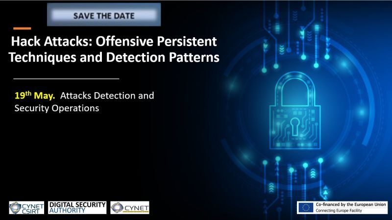 New Training event: Hack Attacks: Offensive Persistent Techniques and Detection Patterns